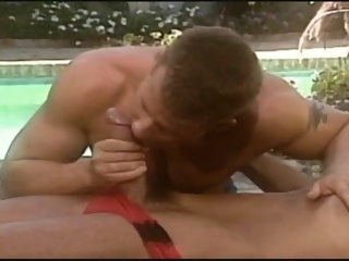 fuck great fuck by the pool from a huge cock pool