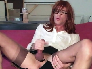 cd CD Valerie begs for cock, gets off hard with cum on her feet valerie