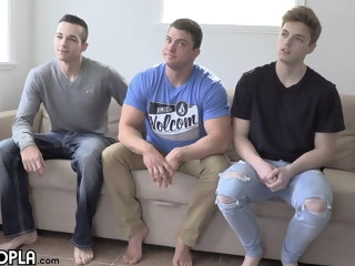 sexy All SEXY Guys! Attractive 3WAY with GAY PORN's Hottest JOCKS guys