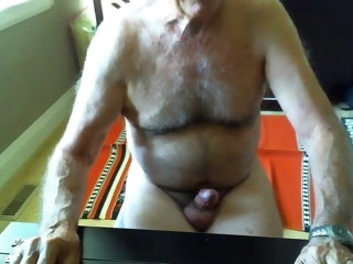 dicked Big dicked dad wanking 003 dad
