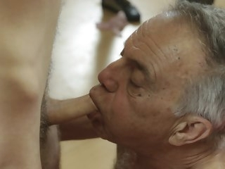 gunther Old Gunther Gets Into Dirty Bareback Orgy gets