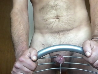 fucking Fucking a chair with cumshot 2 chair