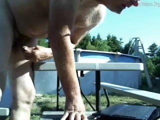 dicked Big dicked dad wanking 005 dad